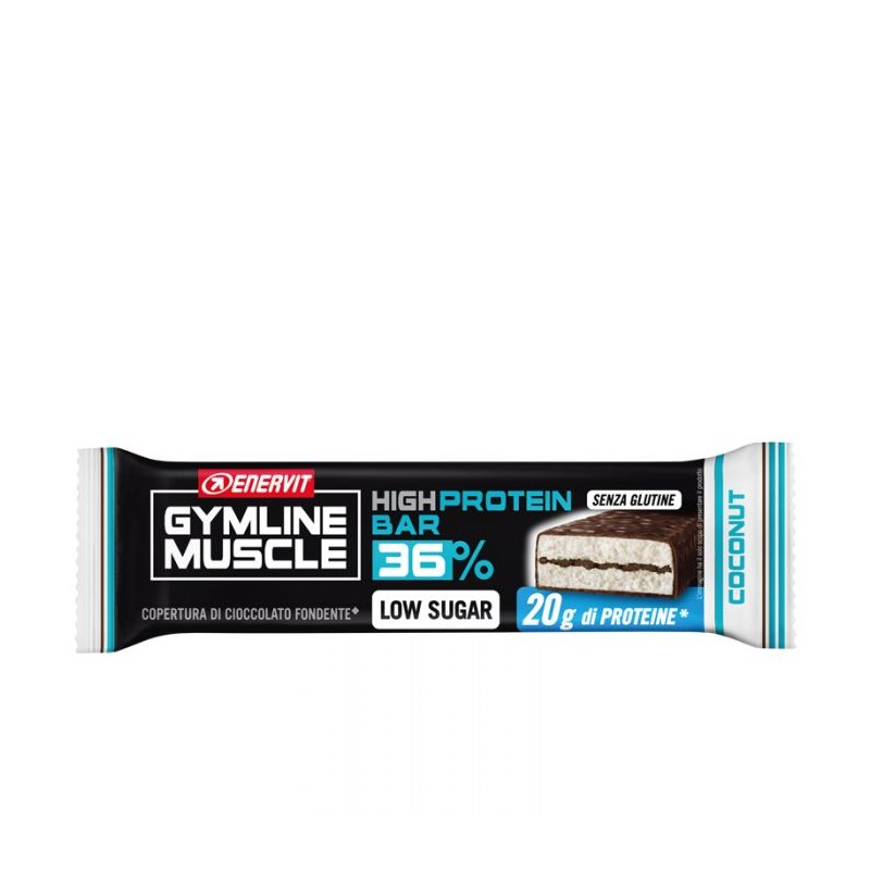 High protein bar 36% coconut